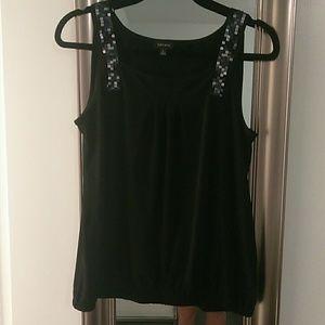 Nine West black blouse
